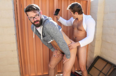 "Charlie Pattinson fucks Conrad Logun in ""Dudes In Public"" part one from Reality Dudes"