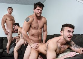 "Aspen, Ashton McKay, Jake Ashford & Connor Maguire fuck in ""Dad Group"" part three"