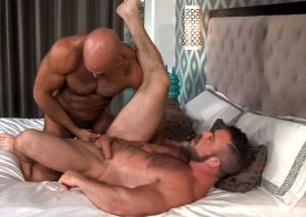 """Liam Knox and Jesse Jackman fuck each other in """"Audition"""" part three from Titan Men"""
