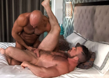 "Liam Knox and Jesse Jackman fuck each other in ""Audition"" part three from Titan Men"