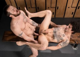 "Mark Long fucks Jimmy Clay in ""Straight Chexxx"" episode one from Next Door Studios"