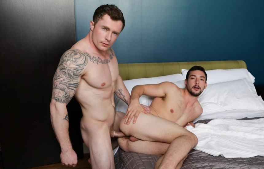 "Markie More fucks Chase Klein in ""Gay Together"" from Next Door Studios"