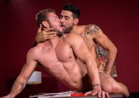 """Mick Stallone fills Ace Era with cock in """"High n' Tight"""" part three from Raging Stallion"""