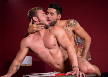 "Mick Stallone fills Ace Era with cock in ""High n' Tight"" part three from Raging Stallion"