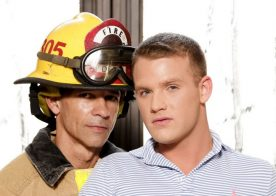 """Brandon Wilde takes Rodney Steele's daddy cock in """"Rescue Daddy"""" from Icon Male"""