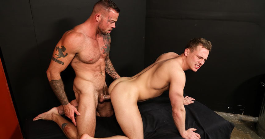 "Sean Duran plows Tommy Regan's tight hole in ""My First Time"" from Pride Studios"
