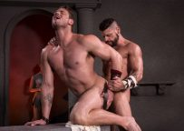 """Tex Davidson pounds Ace Era's hole in """"Erectus"""" part two from Raging Stallion"""