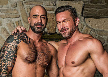 Tomas Brand breeds his real-life partner Angelo Di Luca for Lucas Entertainment