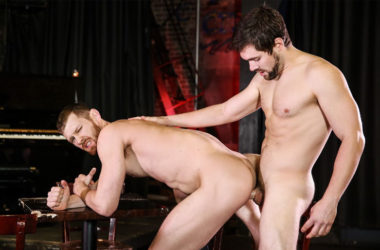 "Griffin Barrows fucks Jacob Peterson in ""Prohibition"" part two from Men.com"