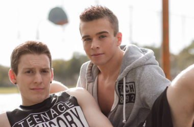 """Brad Chase takes Kevin Daley's raw 8.5 incher in """"Lay-Up"""" from Helix Studios"""