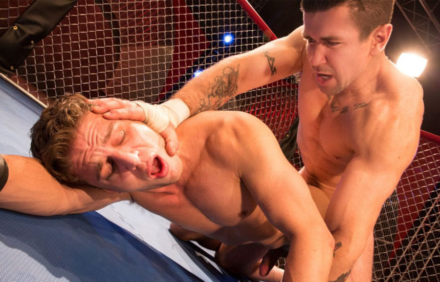 "Alexander Gustavo takes Trenton Ducati's big cock in ""TKO: Total Knockouts"" part three"