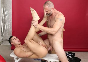 "D Arclyte fucks his stepson Zander Cole in ""Stepdad's Camera"" from Pride Studios"