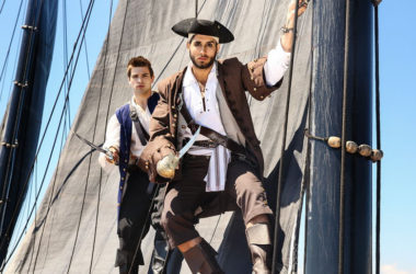 "Johnny Rapid bottoms for Diego Sans in ""Pirates"" part one from Men.com"