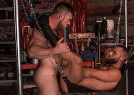 "Eddy Ceetee and Liam Knox fuck each other in ""Sling"" part three from Titan Men"