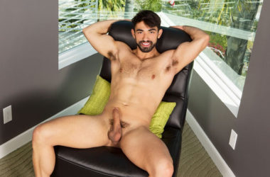 Sean Cody hottie Gideon jerks off and stuffs his ass with a toy