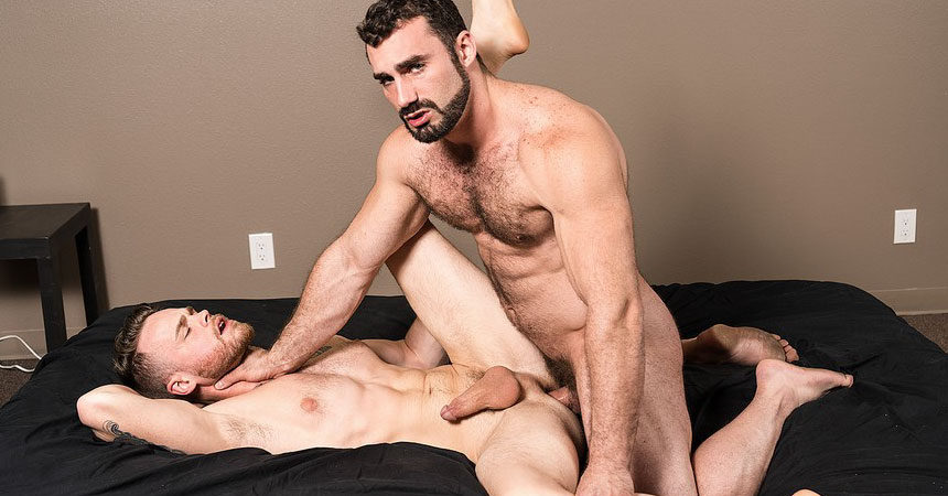 "Max Wilde submits to Jaxton Wheeler in ""Abandoned"" part two from Bromo.com"