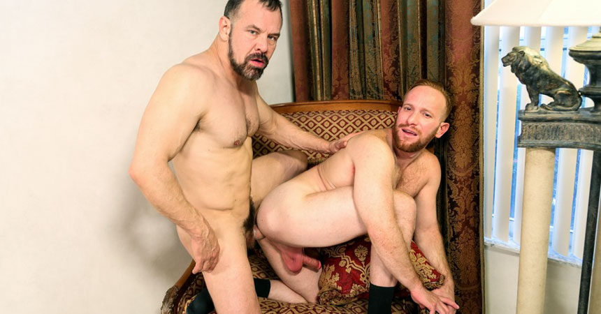 Steven Ponce bends over for Max Sargent and takes a hard pounding at Pride Studios