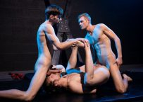 "Scotty Zee, Dalton Briggs and Ty Thomas fuck in ""Fuck Club"" from Next Door Raw"