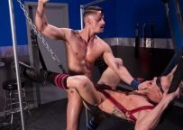 """Skyy Knox pounds Johnny V's ass in """"Blindfolded"""" part four from Hot House"""