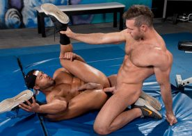 "Alex Mecum fucks Micah Brandt in ""The Trainer: No Excuses"" part two from Hot House"