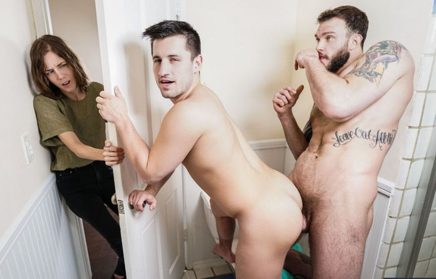 "Cliff Jensen pounds Alex Gray's holes in ""Mine Now, Sister"" from Men.com"