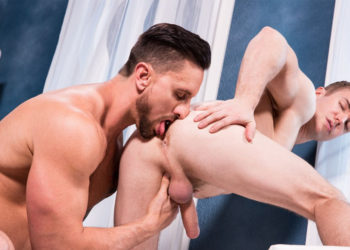 "Gabriel Cross gets a hard pounding from Dakota Rivers in ""Overpowered"" part 3 from Hot House"