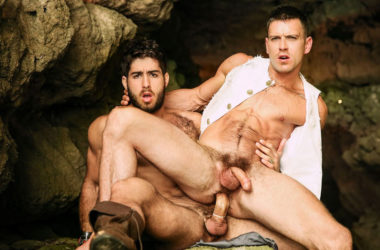 "Paddy O'Brian bottoms for Diego Sans in ""Pirates"" part four from Men.com"