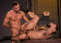 "Muscle top Manuel Skye pounds Rikk York in ""Beards, Bulges & Ballsacks"" part three"