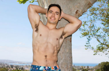 Buffy newcomer Montana shows his bubble butt and jerks off for Sean Cody