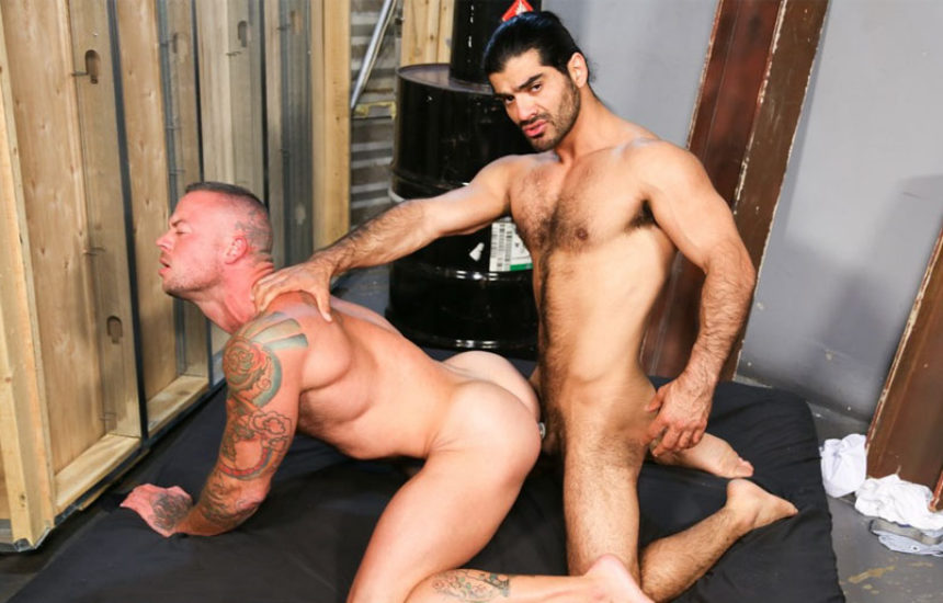"Sean Duran bottoms for Arab stud Ali Liam in ""Much Needed Fuck"" from Pride Studios"