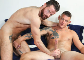 "Brendan Patrick enjoys Jace Chambers' big cock in ""The Moment of Truth"""