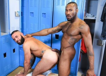 "Fernando Del Rio bottoms for Noah Donovan in ""Big Dick Rumor"" from Pride Studios"