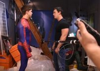 """Behind The Scenes: """"Spiderman: A Gay XXX Parody"""" from Men.com"""