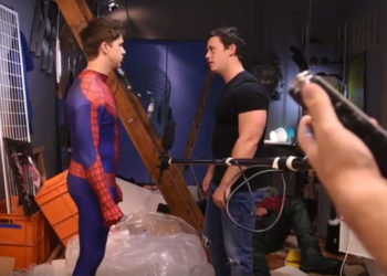 "Behind The Scenes: ""Spiderman: A Gay XXX Parody"" from Men.com"