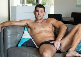 Trevor Bigg shows his athletic body and jerks off for Next Door Studios