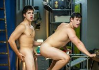 """Tobias and Will Braun fuck each other in """"Spiderman"""" part one from Men.com"""