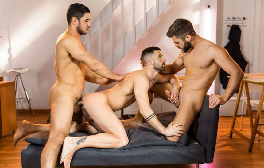 "Dato Foland, Hector De Silva & Sunny Colucci in ""The Couple That Fucks Together"" part 2"