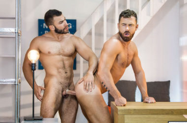 "Logan Moore bottoms for Diego Reyes in ""Mind Blown"" from Men.com"
