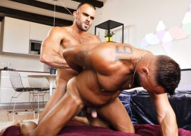 Jake Cook and Damien Crosse fuck each other in a hot bareback scene from TimTales