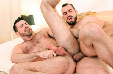 """Jaxton Wheeler fucks Billy Santoro in """"Try Him Out!"""" from Icon Male"""