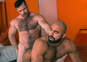"Bearded hunks Liam Knox and Steve Roman fuck in ""Swap"" part two"