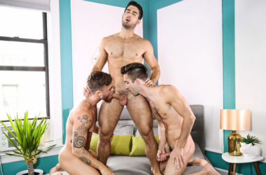 "Diego Sans fucks Max Wilde and Ian Frost in ""Look What I Can Do"" part three"
