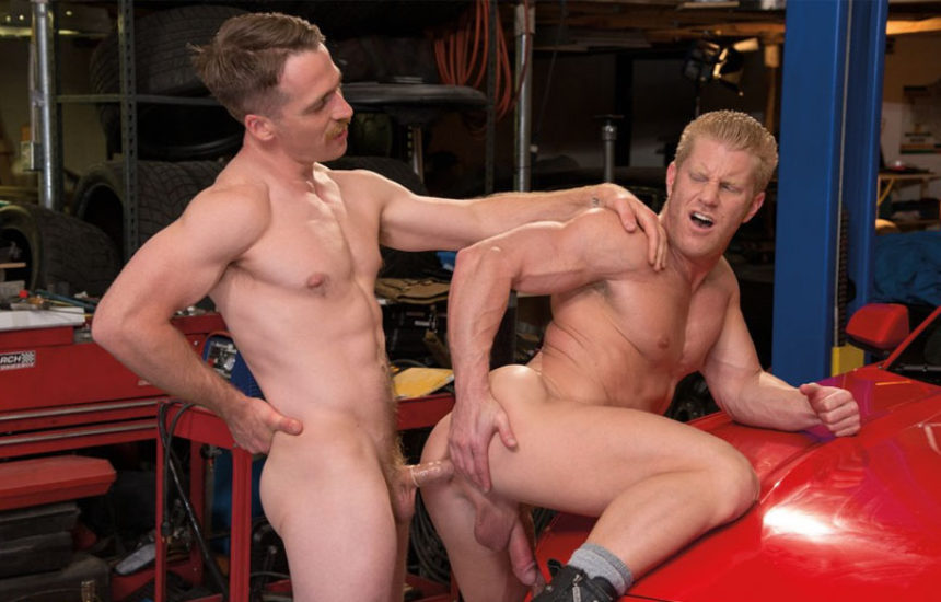 "Nate Stetson fucks Johnny V in Falcon Studios' new movie ""Route 69"""