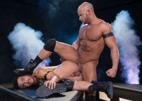 "Beaux Banks bottoms for muscle top Sean Zevran in ""Dark Matter"" part 3 from Hot House"