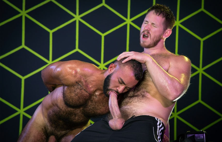 "Spencer Whitman & Fernando Del Rio worship each other's cocks in ""Gaymers"" part 5"