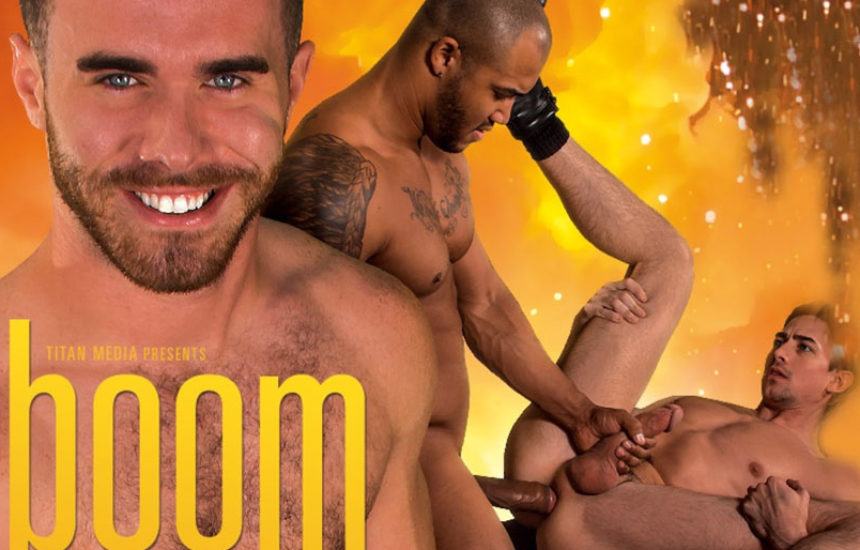 Boom! Titan Men's latest movie brings us seven hot studs in four hardcore duos