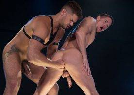 """Tyler Roberts stretches and stuffs Skyy Knox's hole in """"Dark Matter"""" part one"""