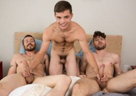 "Dakota Young gets fucked by Mark Long and Connor Halsted in ""Vacation Rules"""