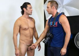 "Alexander Garrett fucks Devin Adams in ""Photograph My Big Cock"" from Pride Studios"