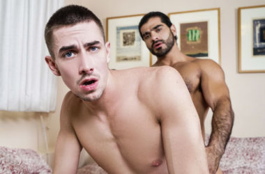 "Ali Liam pounds Jack Hunter in ""Straight Secrets"" part three from Men.com"